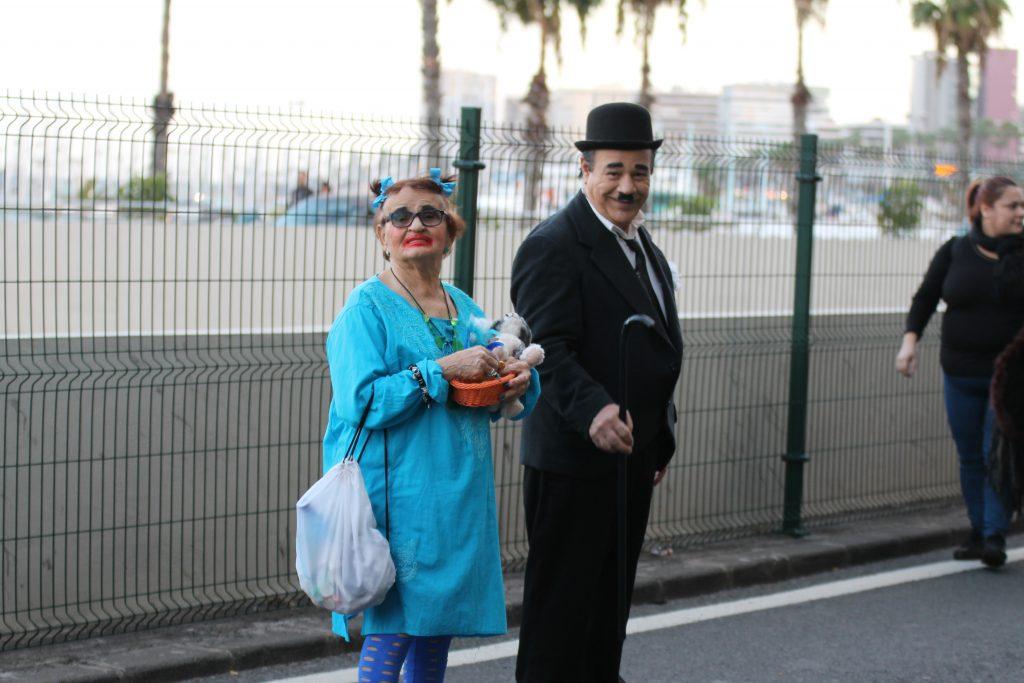 Chaplin og frue