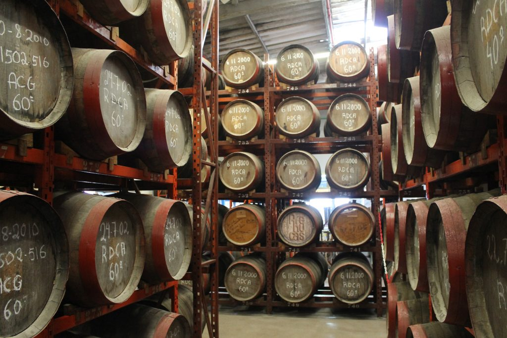 Arehucas Rom destilleri i Arucas