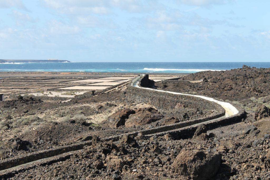 Saltproduktion ved El Golfo