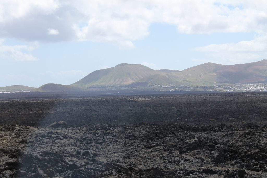 Lava i Timanfaya National park