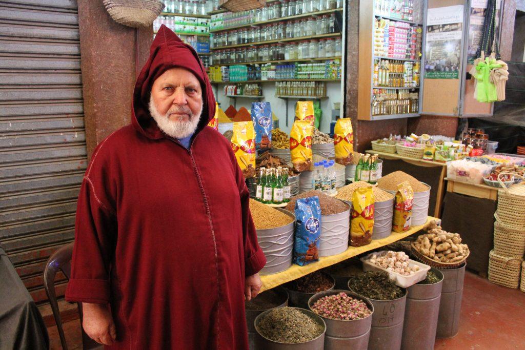 Krydderi sælger