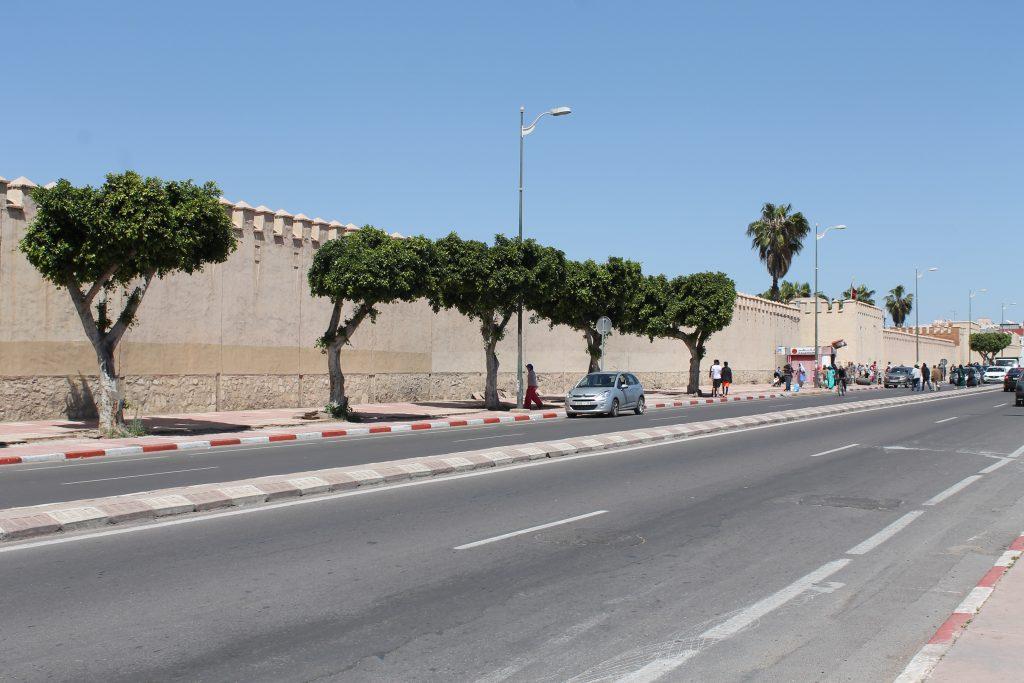 Muren omkring Souk'en