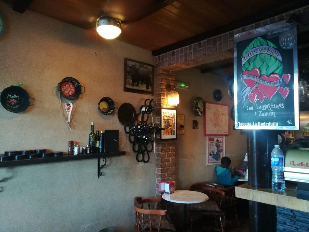 Hyggelig lille restaurant