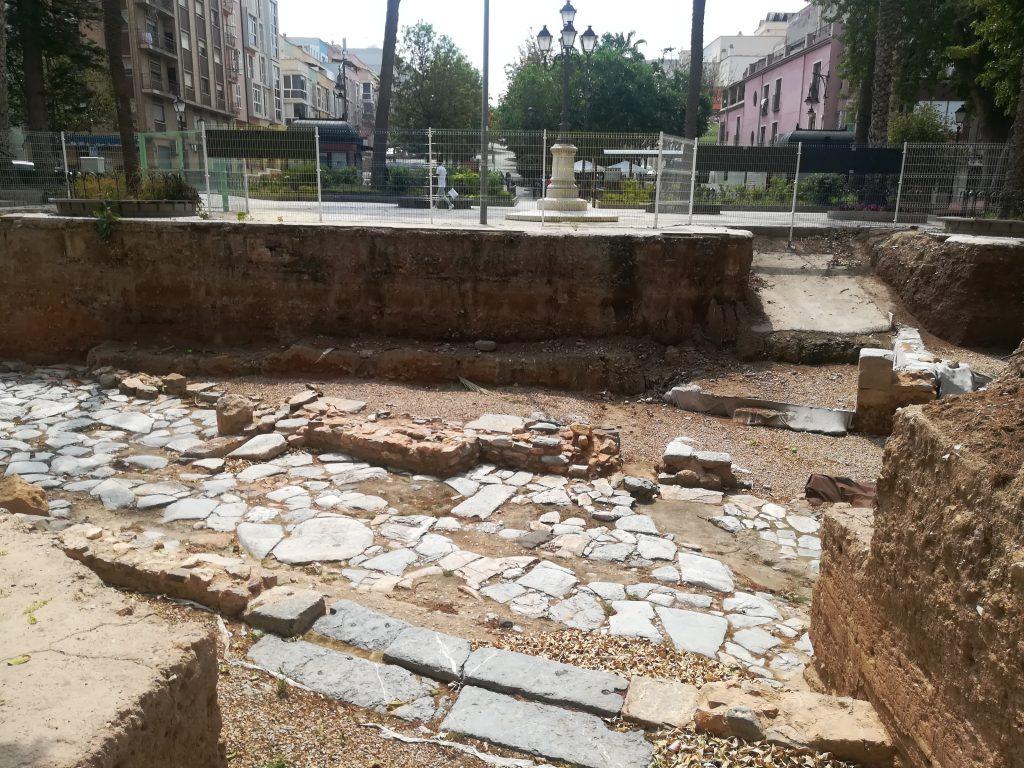 Romersk gade udgravet i Cartagena