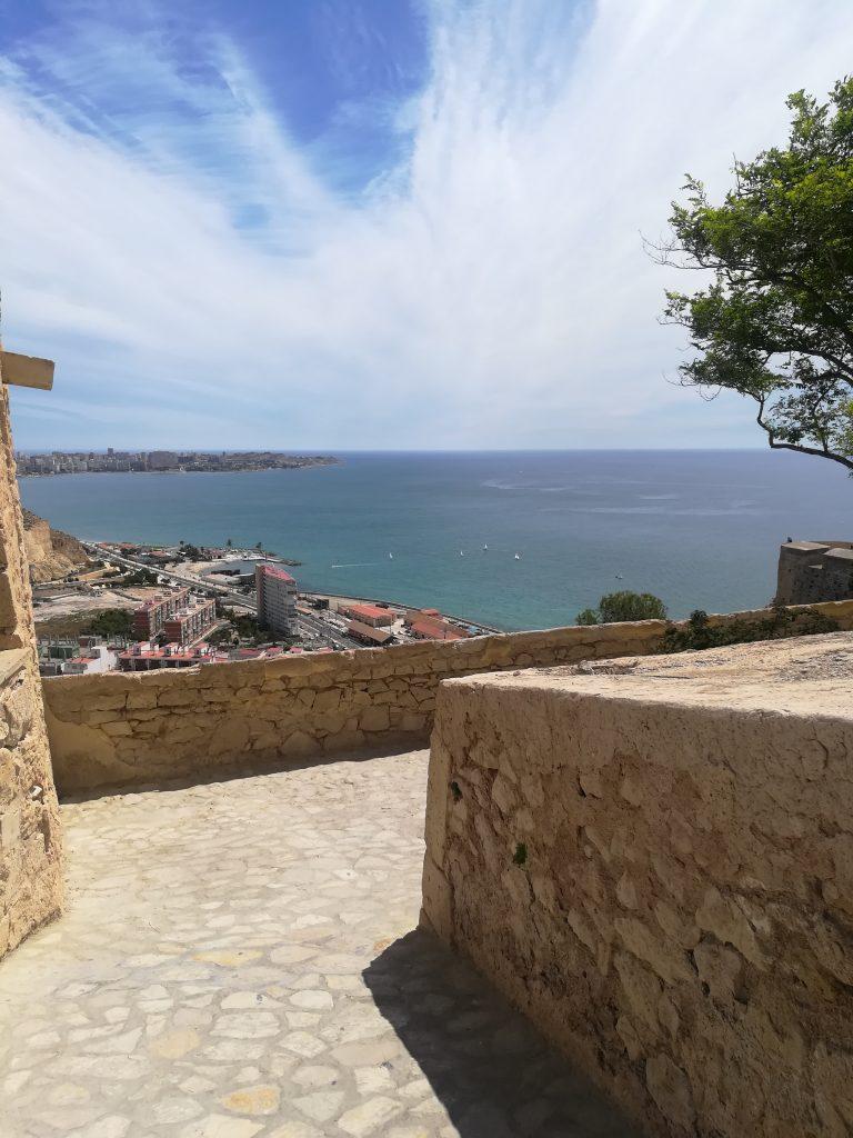 Udsigt fra Castillo de Santa Barbera