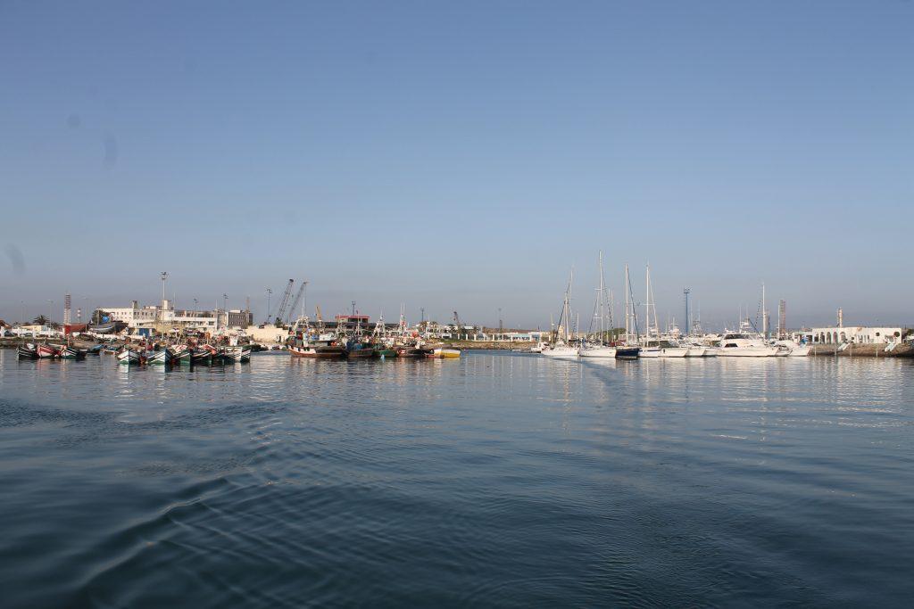 Mohammedir fiskerihavn og marina