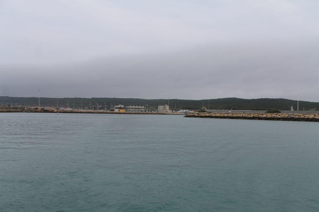 Afsejling fra Barbate Marina