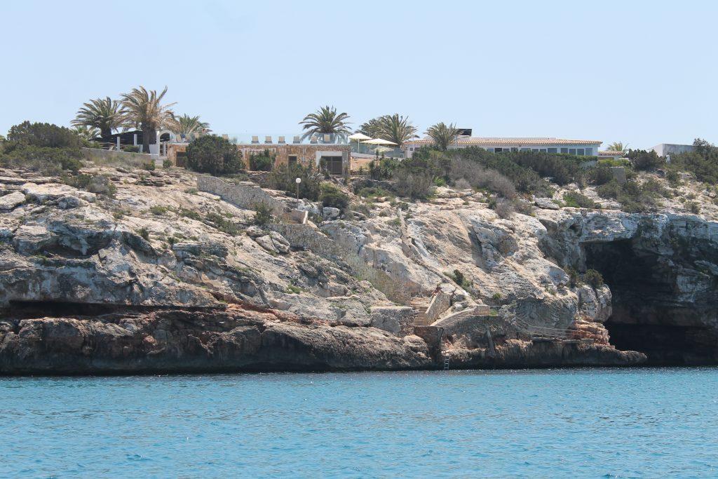 Ankerpladsen ved Formentera