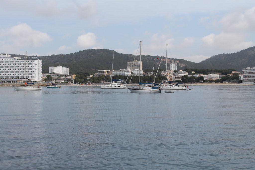 Ankerpladsen ved Palma Nova