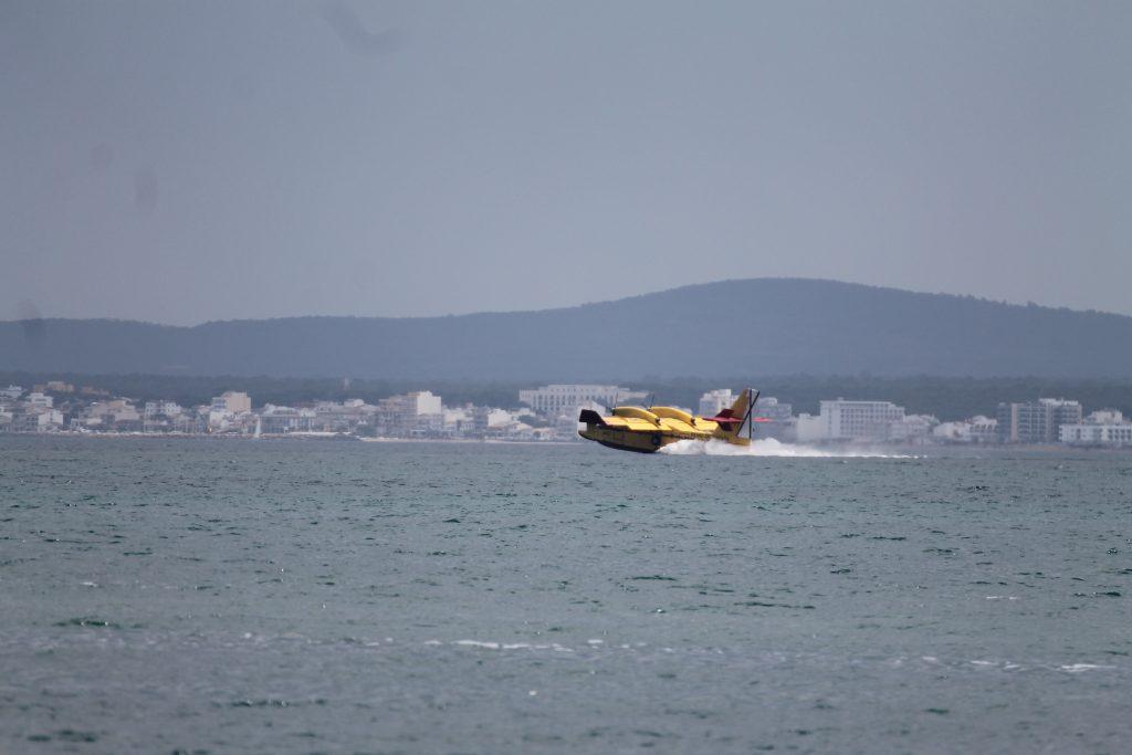 Vandflyver ved Alcudia