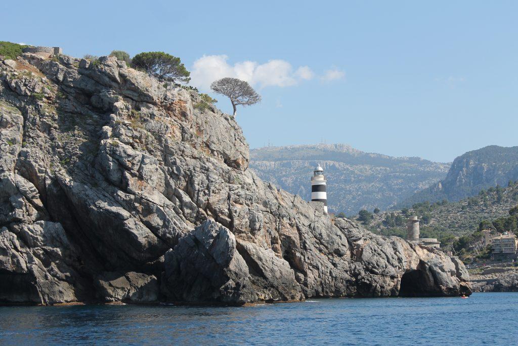 Indsejlingen til Puerto Sóller