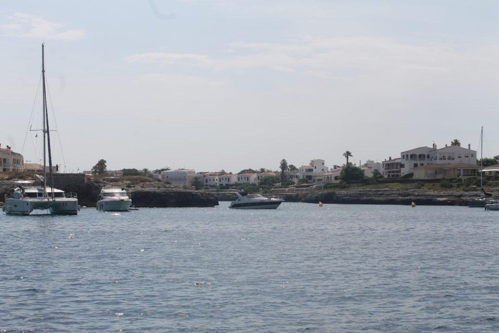 Ankerpladsen ved  Ciutadella